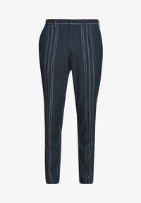 MYLOLOGAN - Pantalon - navy blazer/white