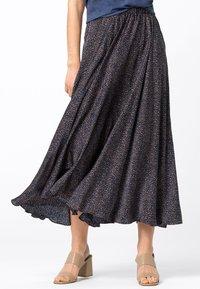 HALLHUBER - Pleated skirt - indigo - 0