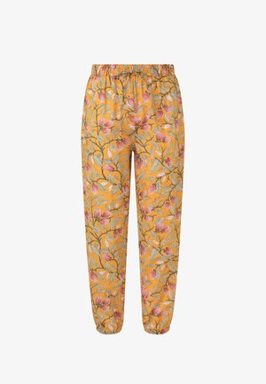 INDIAN CUFFED - Pyjama bottoms - yellow