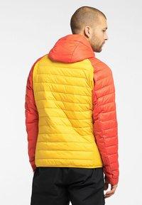 Haglöfs - SPIRE MIMIC HOOD  - Winter jacket - pumpkin yellow/habanero - 1