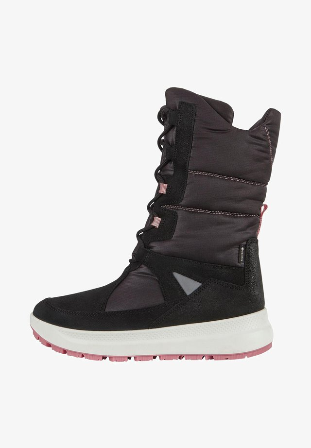 SOLICE K HIGH-CUT - Lace-up boots - black