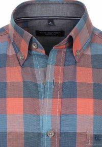 Casamoda - Shirt - orange/blue - 2