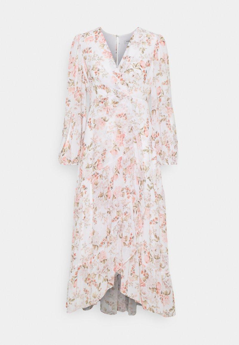 Forever New Petite - LOLA PRINTED MAXI DRESS - Sukienka koktajlowa - vintage coral