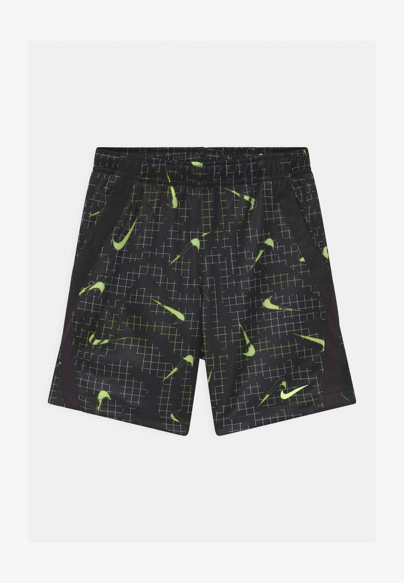 Nike Sportswear - GLOW IN THE DARK  - Shorts - black