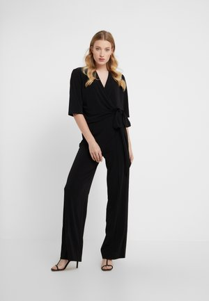 ZHOU - Tuta jumpsuit - black