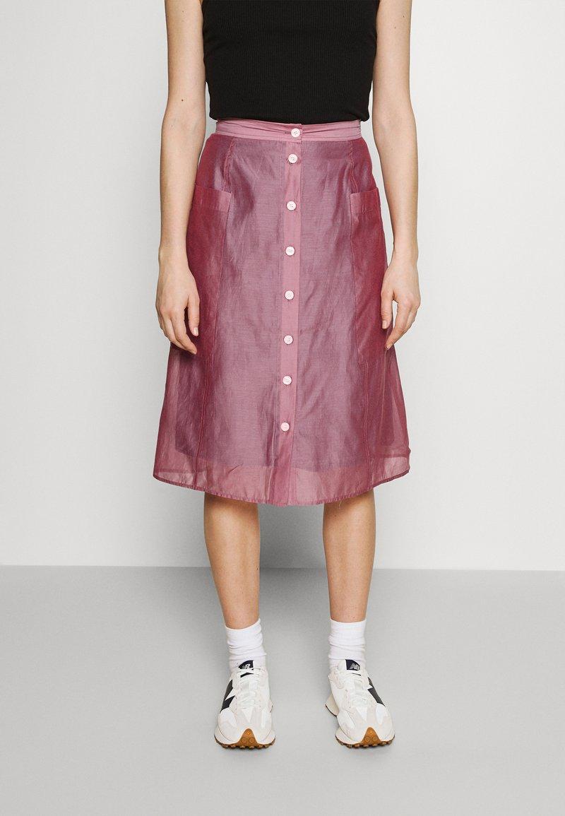 Wood Wood - HAZEL SKIRT - A-line skirt - rose