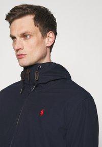 Polo Ralph Lauren - POPLIN HOODED JACKET - Summer jacket - aviator navy - 3