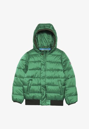 PADDED JACKET WITH HOOD - Zimní bunda - boxing green