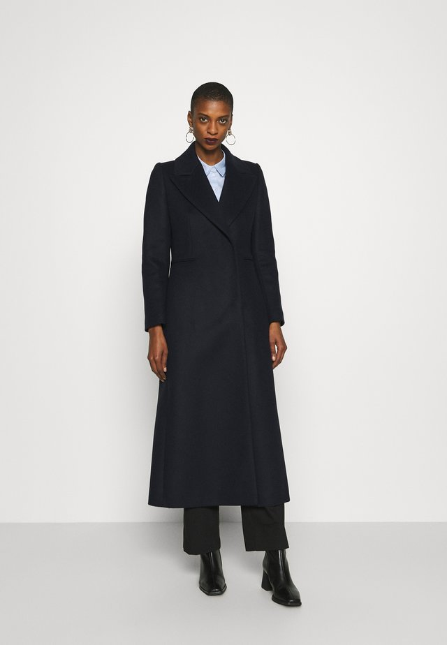 MAXI COAT - Mantel - navy blue