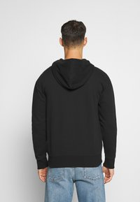 Hollister Co. - GENDERLESS ICON - Hoodie met rits - black - 2