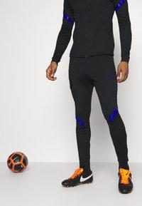 Nike Performance - NIEDERLANDE DRY SUIT - Koszulka reprezentacji - black/bright blue - 3