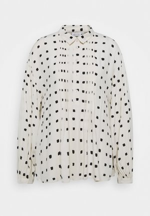 BADISSO - Button-down blouse - whitecap