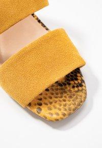 Steve Madden - KELINE - Heeled mules - yellow - 2