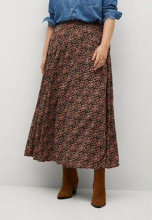 MOSSY8 - A-line skirt - black