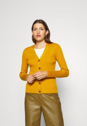 SIMONE - Cardigan - saffron gold