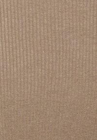 Missguided Petite - COLLARED MIDI DRESS - Shift dress - stone - 2