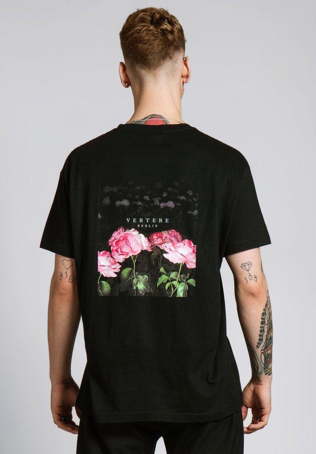 T-shirt print - schwarz