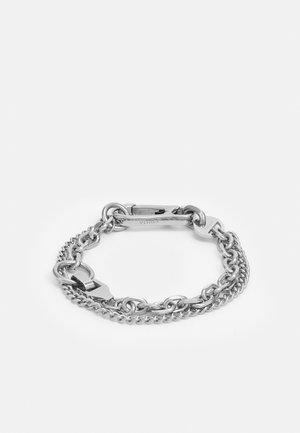 SURGE UNISEX - Bracelet - silver-coloured