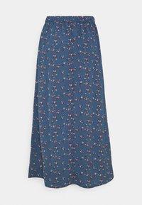 ONLY - ONLNOVA LUX BUTTON SKIRT - A-line skirt - bering sea - 5