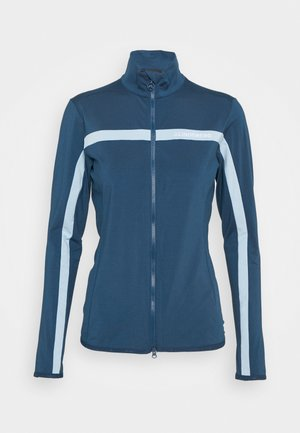SEASONAL JANICE MID LAYER - Mikina na zip - midnight blue