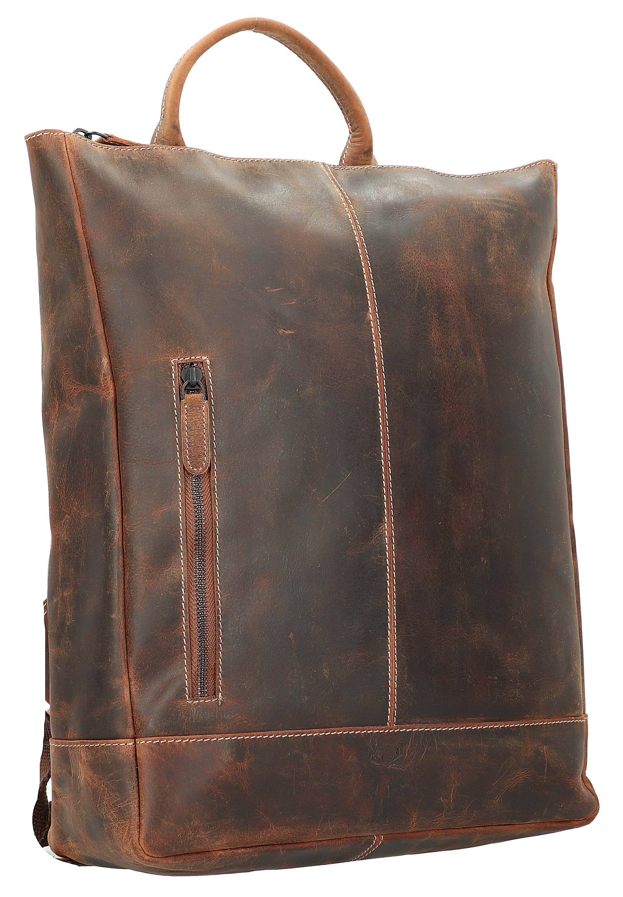 Jack Kinsky BALTIMORE LAPTOPFACH - Tagesrucksack - cognac/braun - Herrentaschen FHrov
