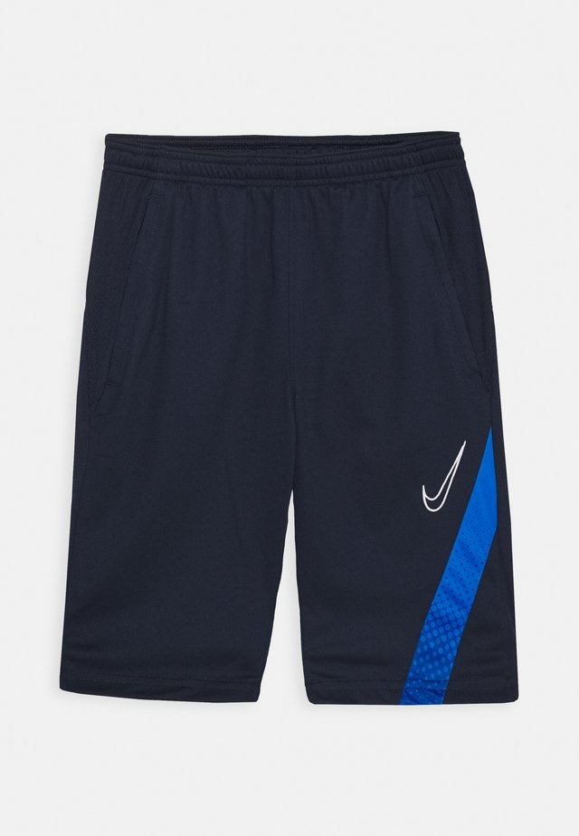 DRY ACADEMY SHORT - Pantaloncini sportivi - obsidian/soar/white
