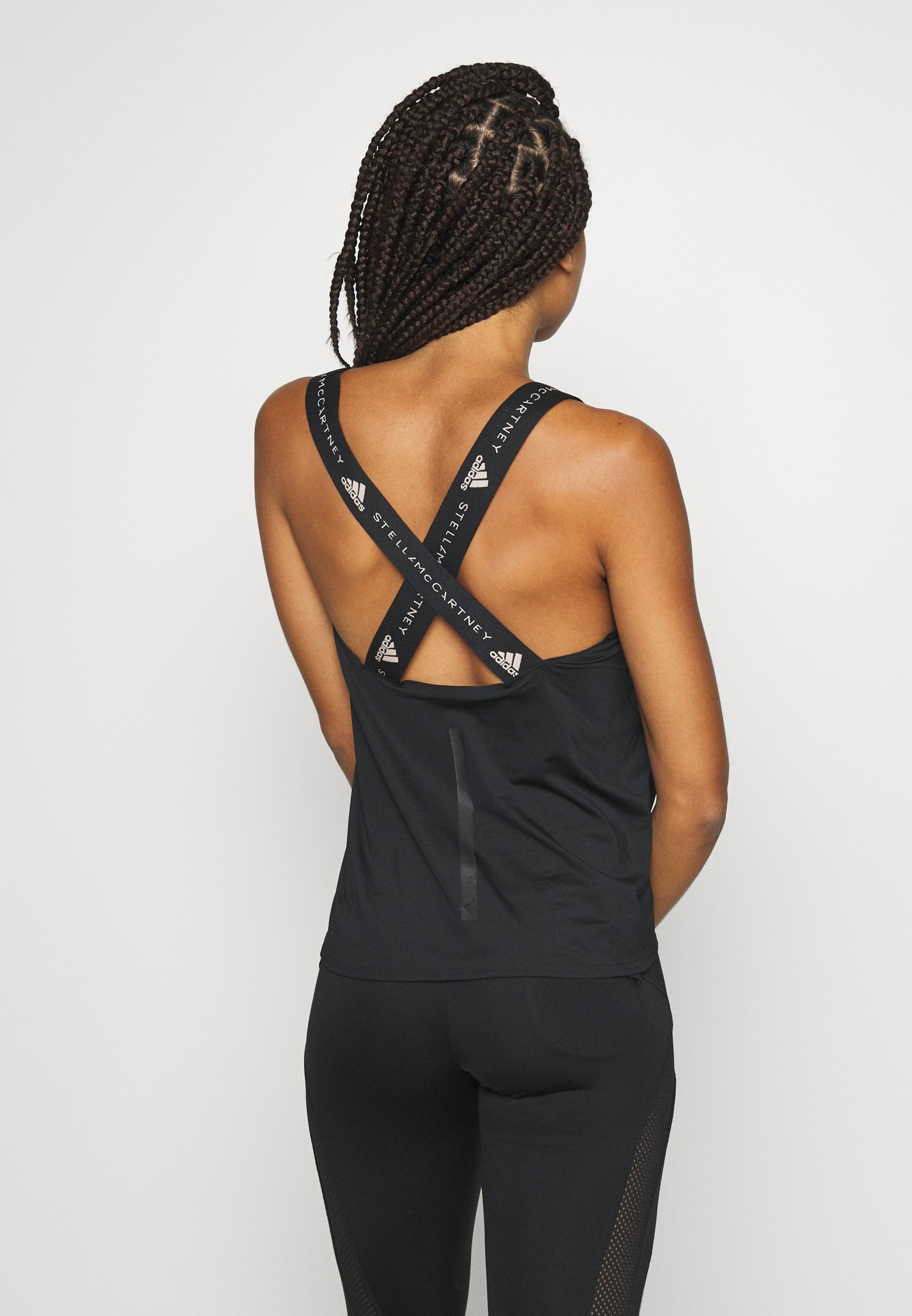 adidas by Stella McCartney TRUEPUR TANK - Top - black h2Qyw