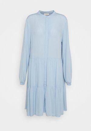 FQFLOW SOLID - Shirt dress - chambray blue