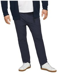 s.Oliver - Trousers - dark blue check - 3