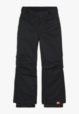 BACKYARD  - Zimní kalhoty - true black