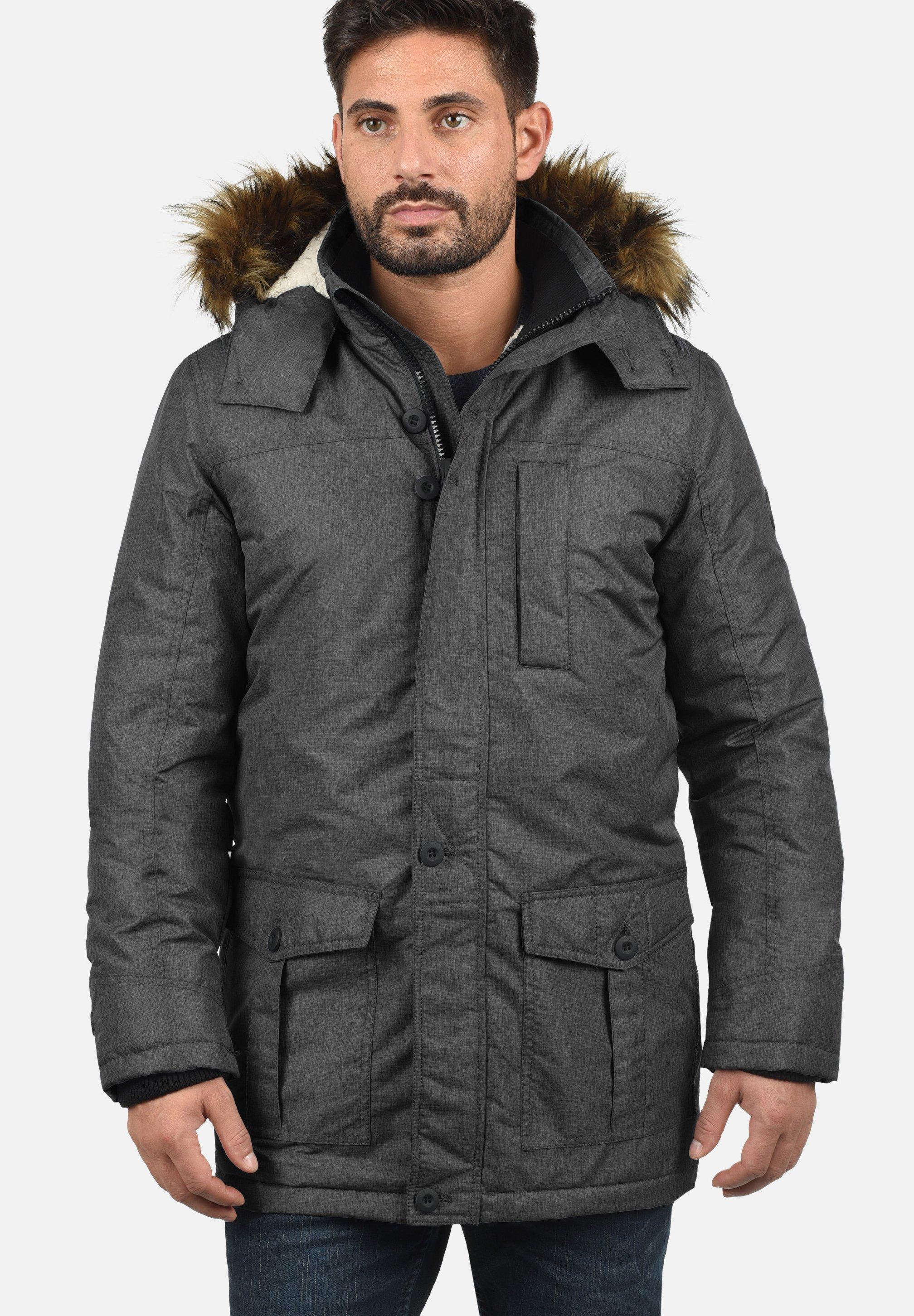 Homme OCTAVUS - Veste d'hiver - black melange