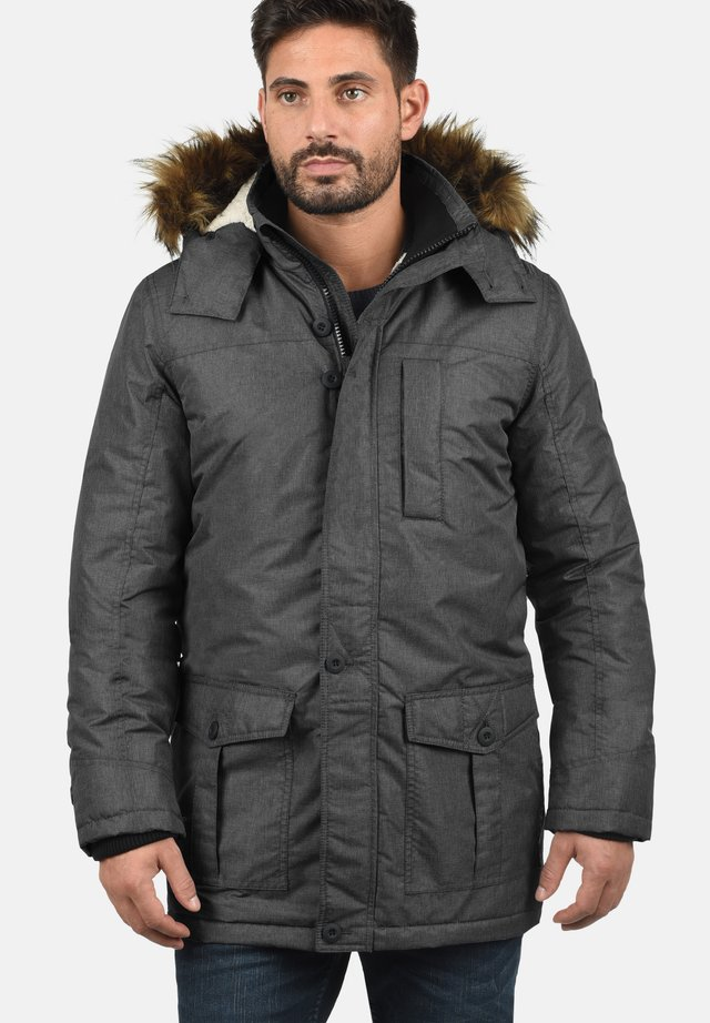 OCTAVUS - Winter coat - black melange