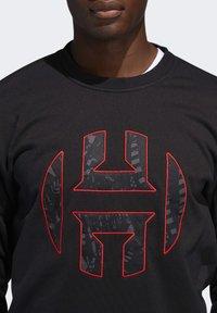 adidas Performance - HARDEN FLEECE CREW SWEATSHIRT - Sweater - black - 5
