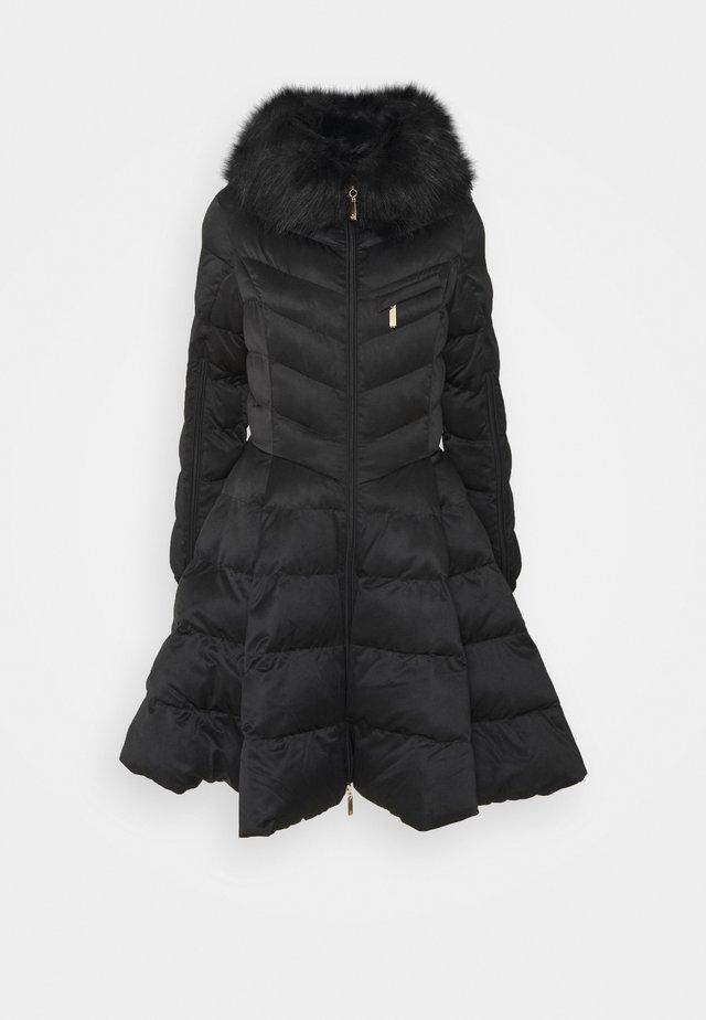 WOMENS PADDED JACKET - Zimní kabát - nero