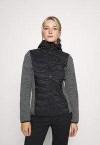 Campagnolo - WOMAN JACKET FIX HOOD - Outdoor jacket - nero - 0