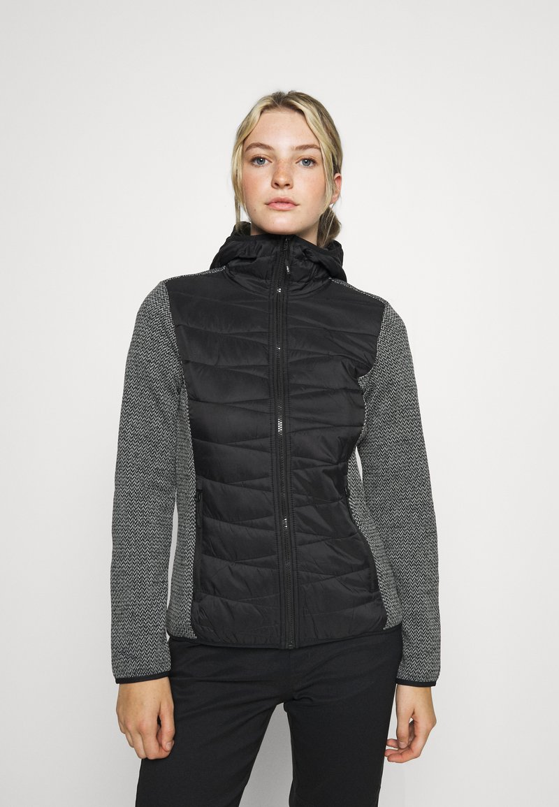 Campagnolo - WOMAN JACKET FIX HOOD - Outdoor jacket - nero