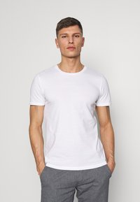 TOM TAILOR DENIM - 3 PACK - T-shirt basic - light stone/grey melange - 2