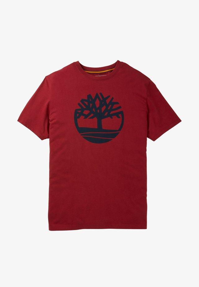 Camiseta estampada - rhubarb