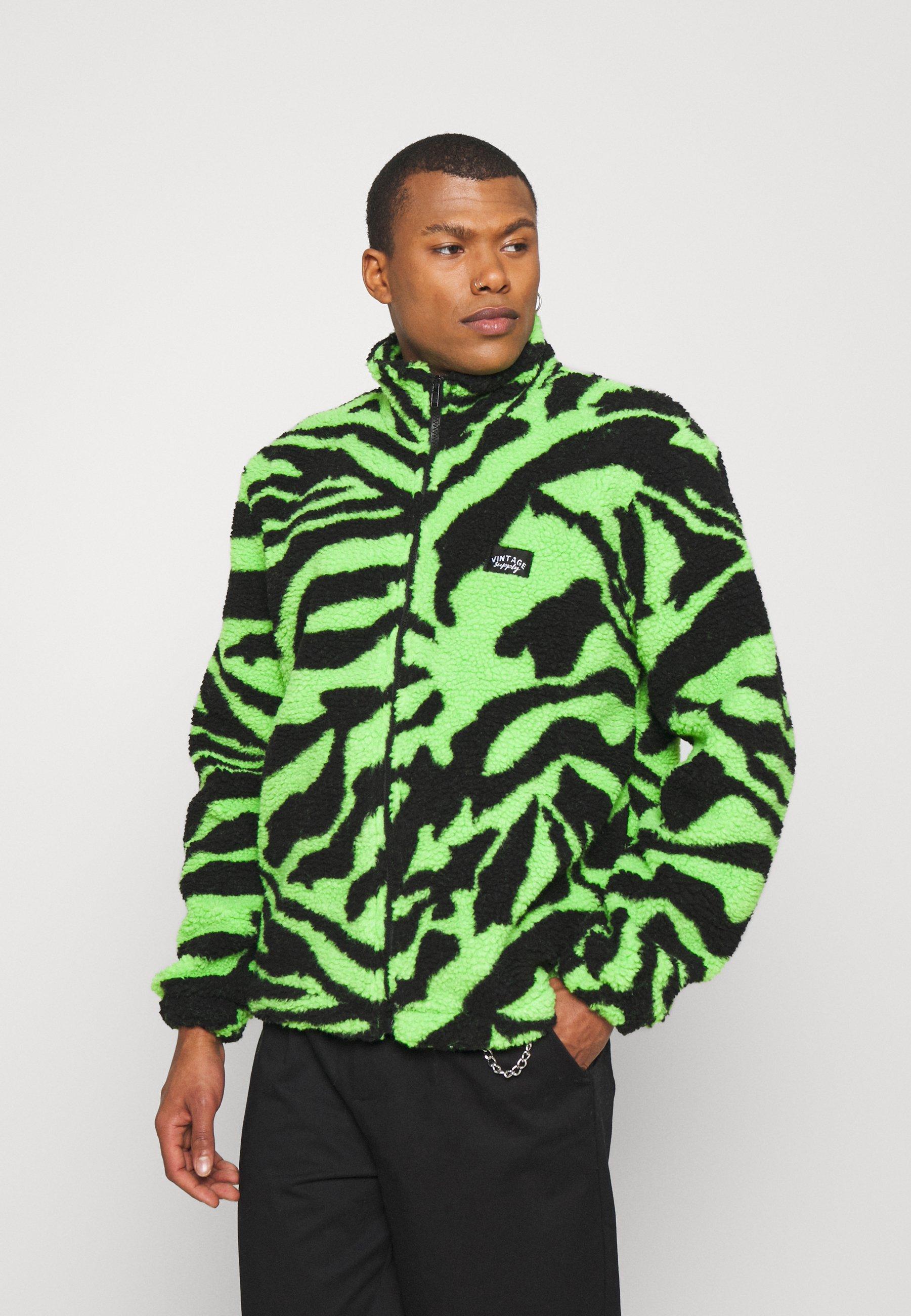 Men ZIP THROUGH JACKET  - Fleece jacket