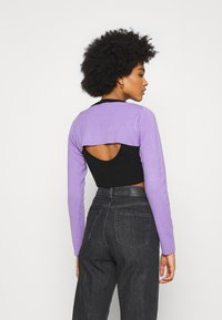 The Ragged Priest - DOUBLE LAYER - Maglione - black/lilac - 2