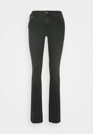 BELLA - Bootcut jeans - smoke gold lux move