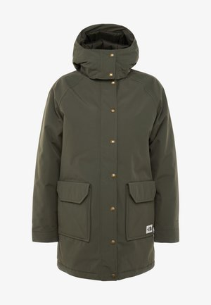INSULATED ARCTIC MOUNTAIN JACKET - Kort kåpe / frakk - new taupe green
