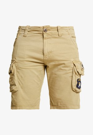CREW PATCH  - Shorts - sand