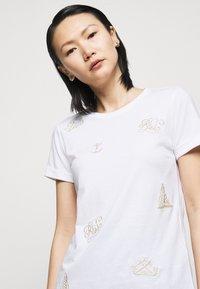 Lauren Ralph Lauren - UPTOWN - T-shirts med print - white - 3