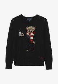 Polo Ralph Lauren - BEAR TOPS - Strickpullover - polo black - 3