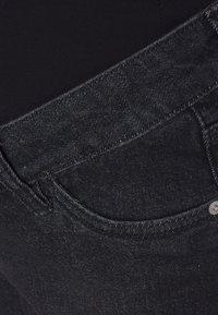 MAIAMAE - LONGER BOY  - Denim shorts - washed black - 2