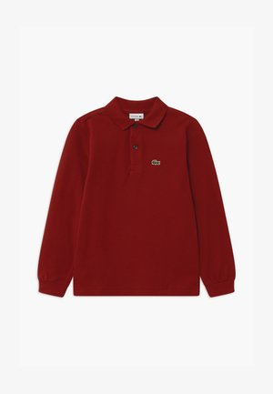 Polo shirt - alizarin