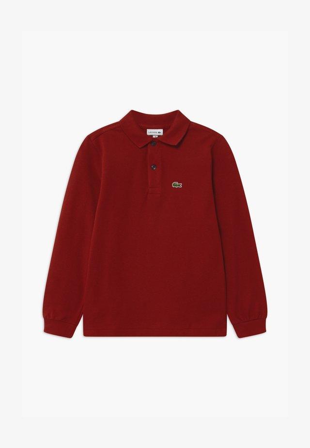 Poloshirts - alizarin
