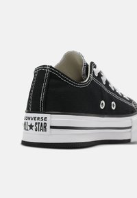 Converse - CHUCK TAYLOR ALL STAR PLATFORM UNISEX - Sneaker low - black/natural ivory/white - 4