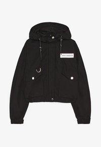 Bershka - MIT KAPUZE - Outdoor jacket - black - 5